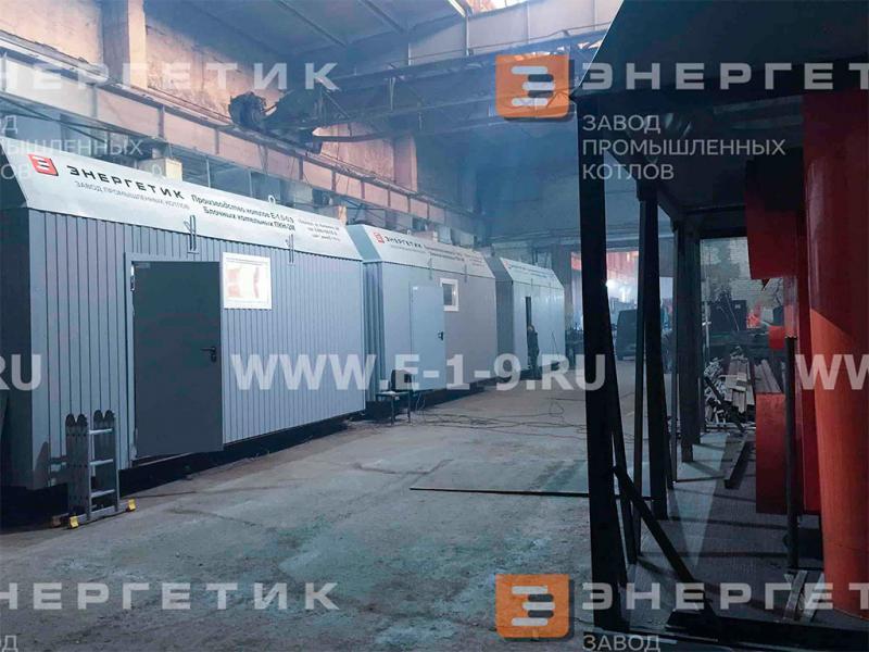 Котельные ПКН-2М в цехе